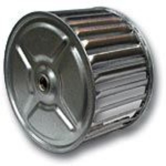 """Picture of Small Heater Blower Wheel 4 3/4"""" Part#10035280"""