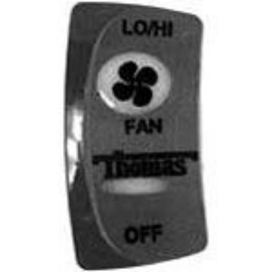 Picture of Rear Heater Fan Switch Part#52003196