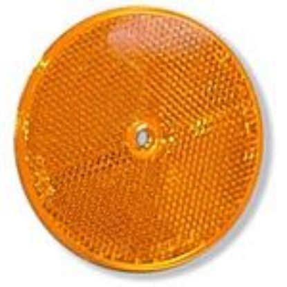 "Picture of Amber, 3"", Reflector Part# TRU98006Y"