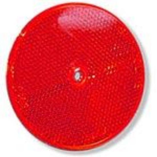 "Picture of Red, 3"", Reflector Part#TRU98006R"