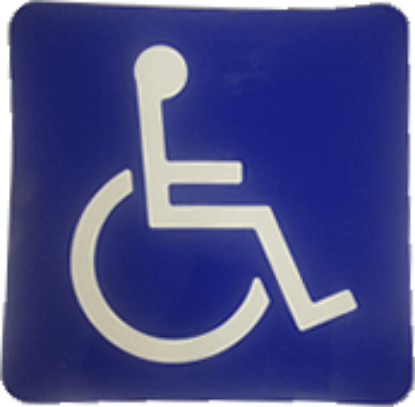 Picture of Handicap Decal Part#1584499
