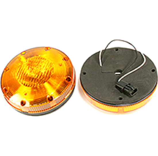 Picture of Amber Halogen Warning Light Part# 00124870