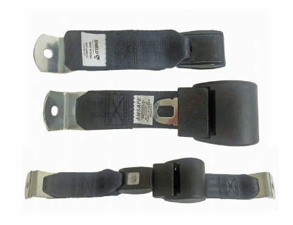 Picture of Seat Belt Assy Black w/Retractor Part#0062417
