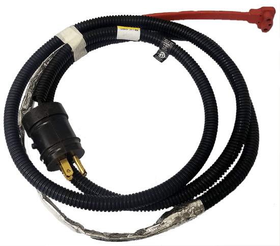 Picture of Ford 6.8L Engine Block Heater Cable Part#10027615