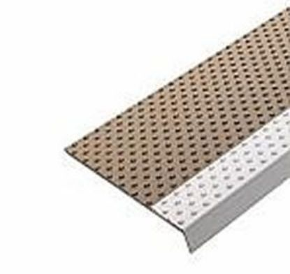 Picture of Middle Step Tread Koroseal Studded - Tan - Part #10015465
