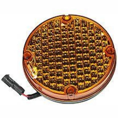 """Picture of 7"""" LED Amber Warning Light-Select Flash Part#10063564"""