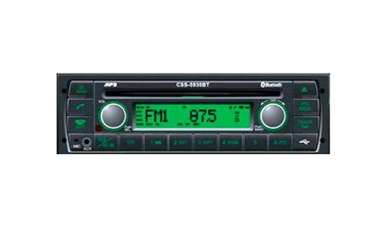 Picture of AM/FM/WB Radio w/CD/MP3/WMA/USB/Bluetooth Part#PA2-5930T-BL45A