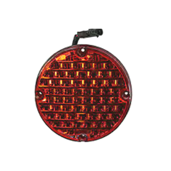 """Picture of 7"""" LED Red Warning Light-Select Flash Part#BB10062923"""