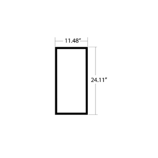 Picture of Rubber Glazing Part #1773043