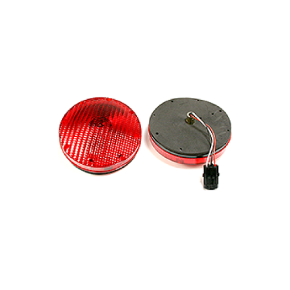 """Picture of 7"""" S/T/T LED Incandescent Light Red Part #0124862"""
