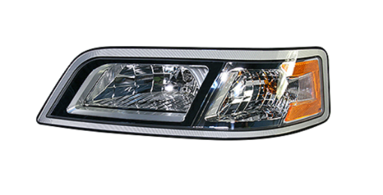 Picture of BBCV Headlamp Assy (Left) Part #10055333